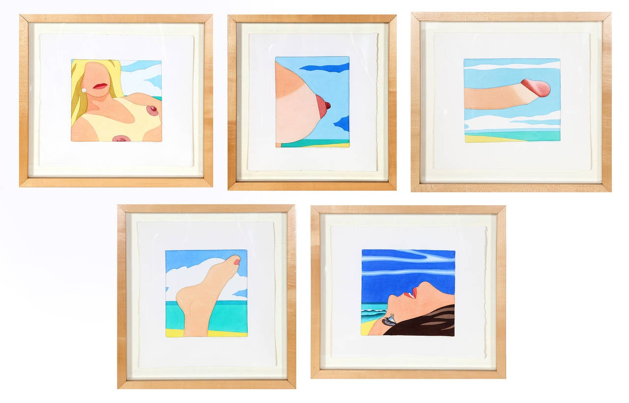Seascape Portfolio (Five Works)