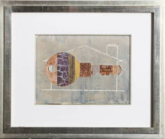 House Key, 1956 Watercolor by Clarence Carter