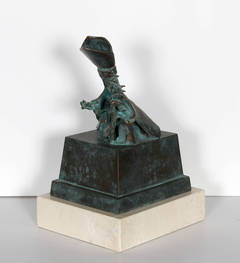 an analysis of dalis sculpture michelin slave Slave market with the disappearing bust of voltaire, 1940 by salvador dali, surrealism period (1929-1940)  art institutions  / salvador dali/ slave market with .