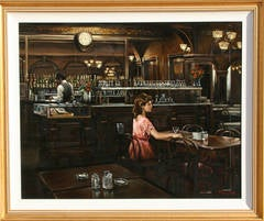 Gage and Tollner's, Oil Painting by Harry McCormick