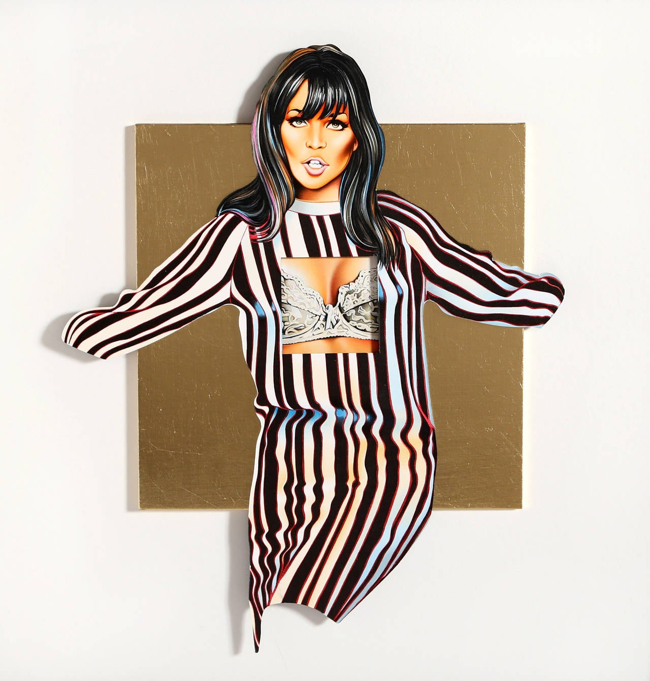 Mel Ramos Maidenform Molly Print For Sale At 1stdibs