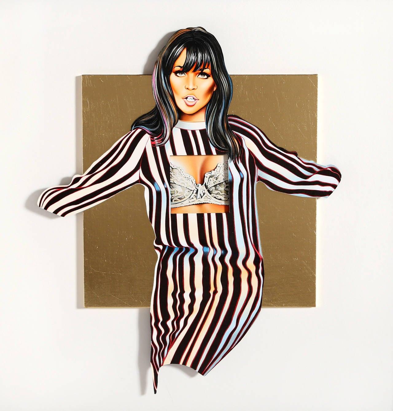 Mel Ramos Figurative Print - Maidenform Molly