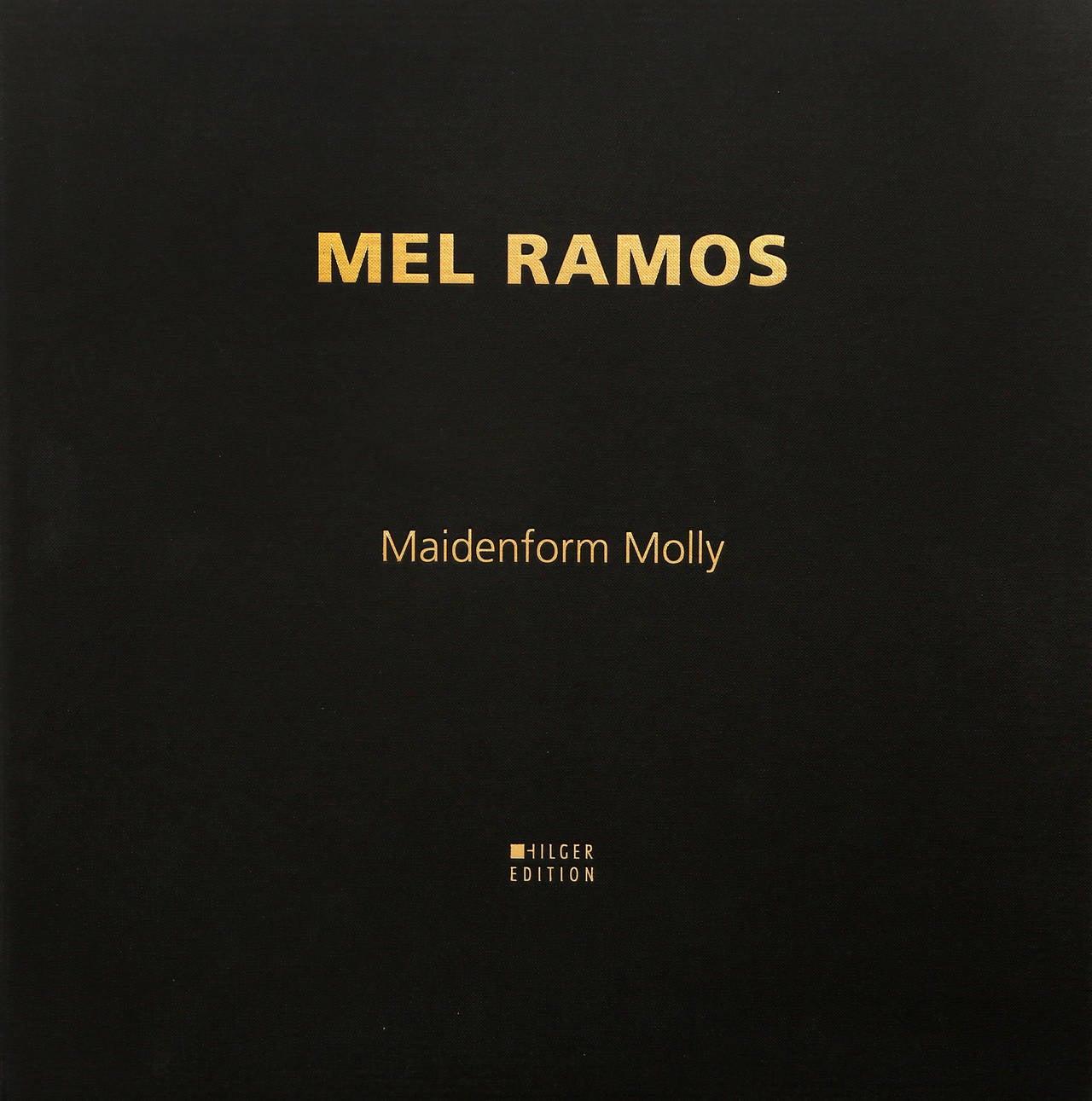 Maidenform Molly - Pop Art Print by Mel Ramos
