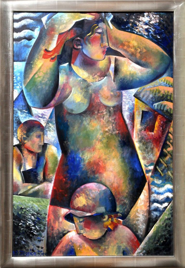 Jessica Rice Figurative Painting - Bathers