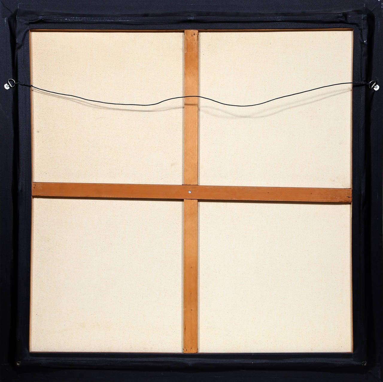 Fuschia - Brown Still-Life Painting by Jan Peter Tripp