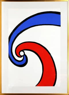 Red and Blue Swirl