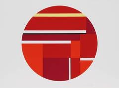 Red Tondo III