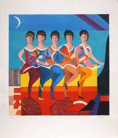 Five Dancers
