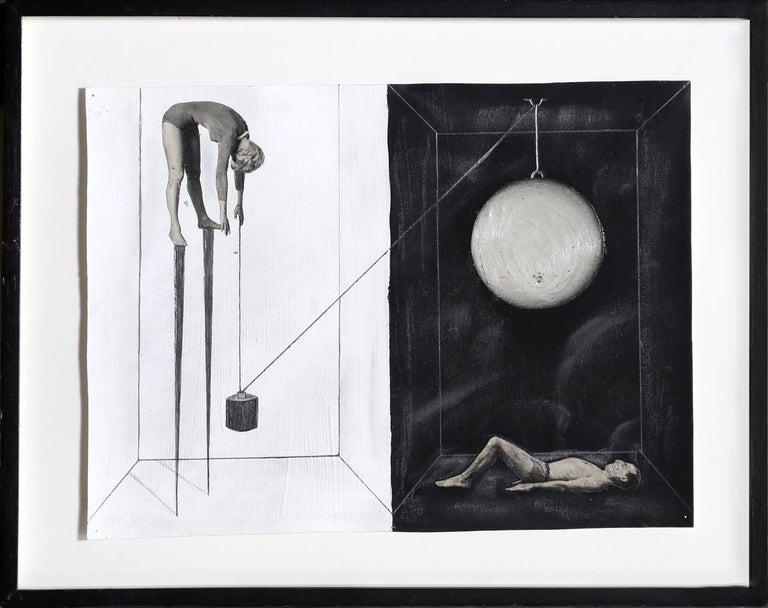 Untitled - Pulley System - Mixed Media Art by Zizi Raymond