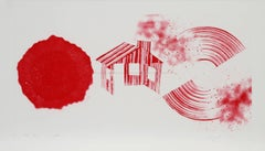 Hot Lake (2nd State), Etching by James Rosenquist