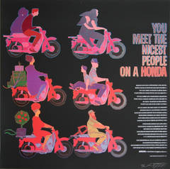 You Meet the Nicest People on a Honda from the Homage to Andy Warhol Portfolio