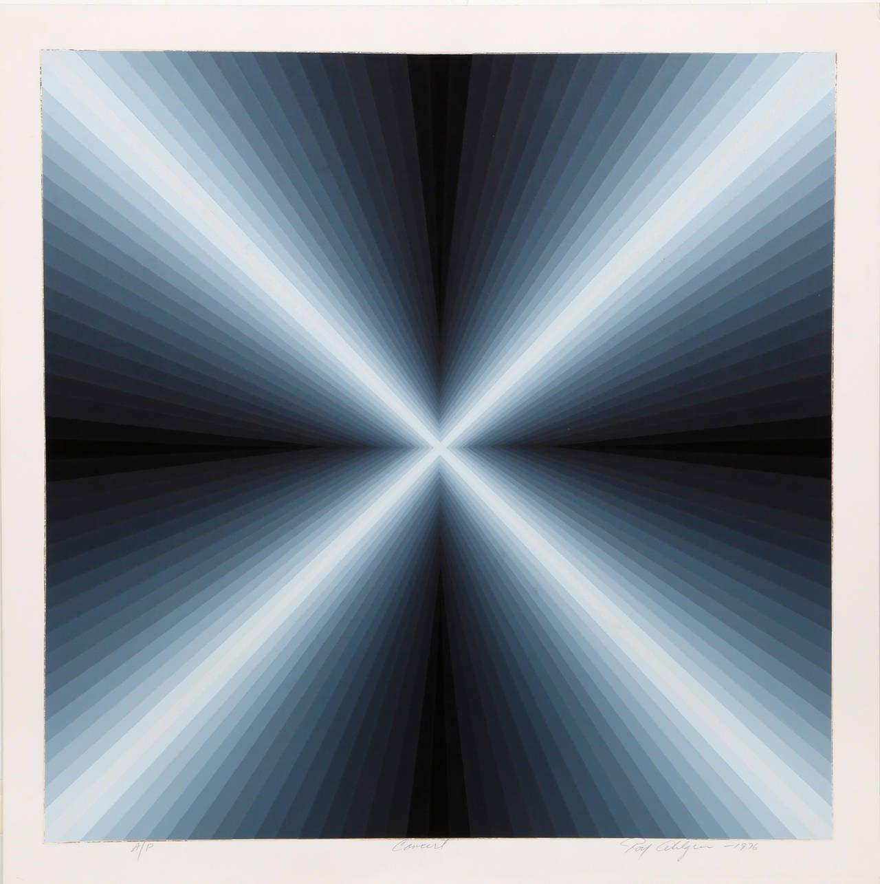 Roy Ahlgren Abstract Print - Concert