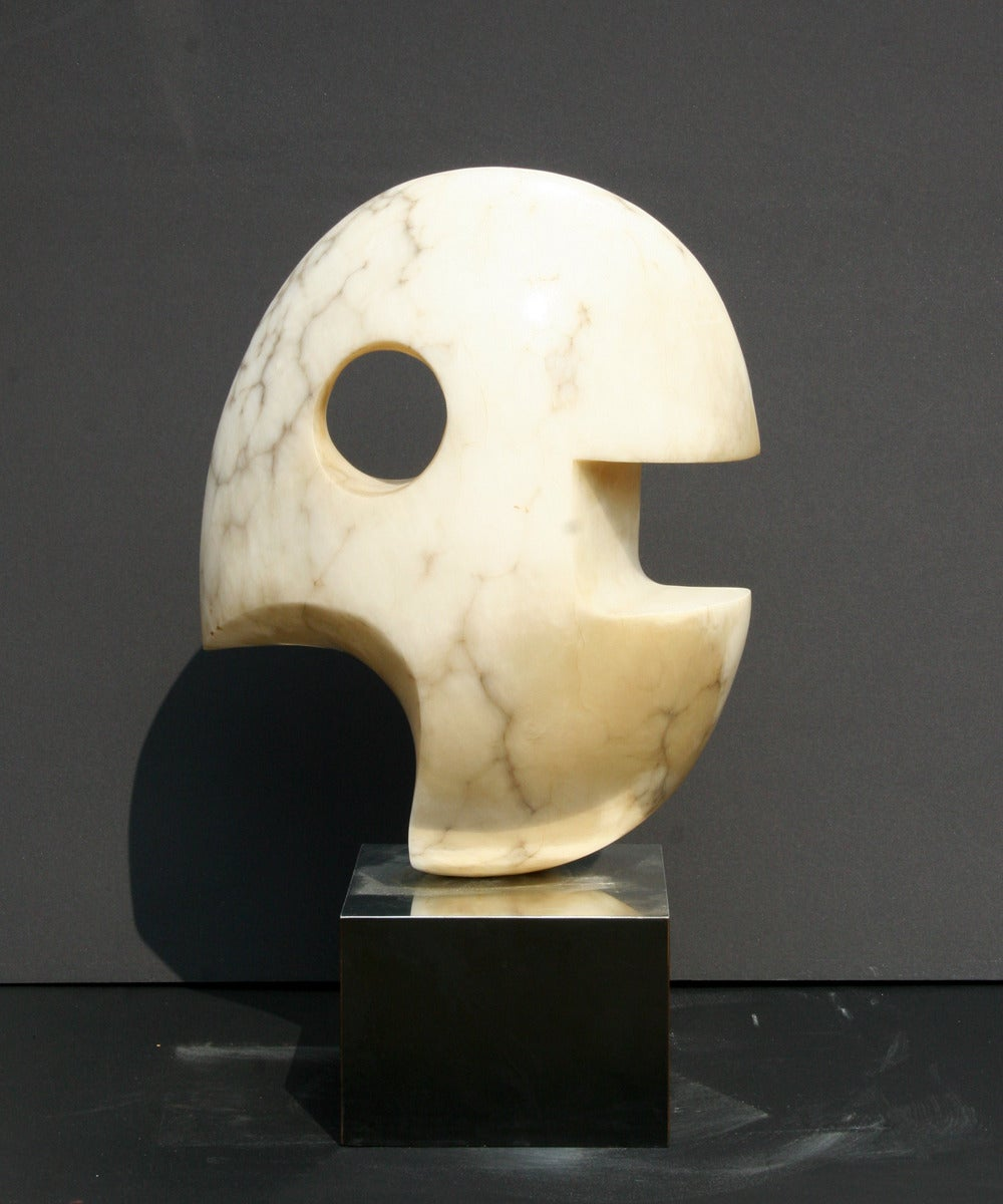 Modern Abstract Stone Sculpture