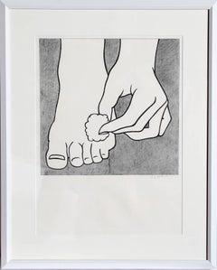 Foot Medication by Roy Lichtenstein 1963