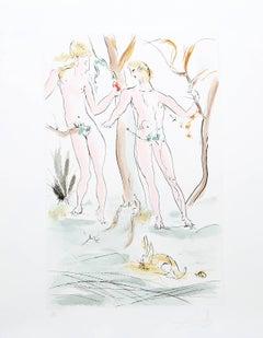Adam et Eve from the Homage a Albrecht Durer Suite
