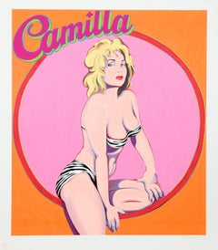Camilla, Pop Art Serigraph by Mel Ramos