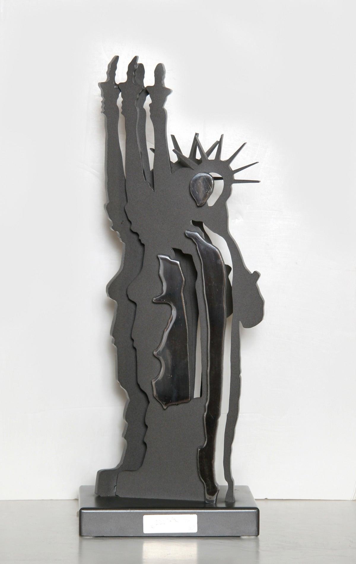 Fernandez Arman Figurative Sculpture - Statue of Liberty - Le Fantome de la Liberte