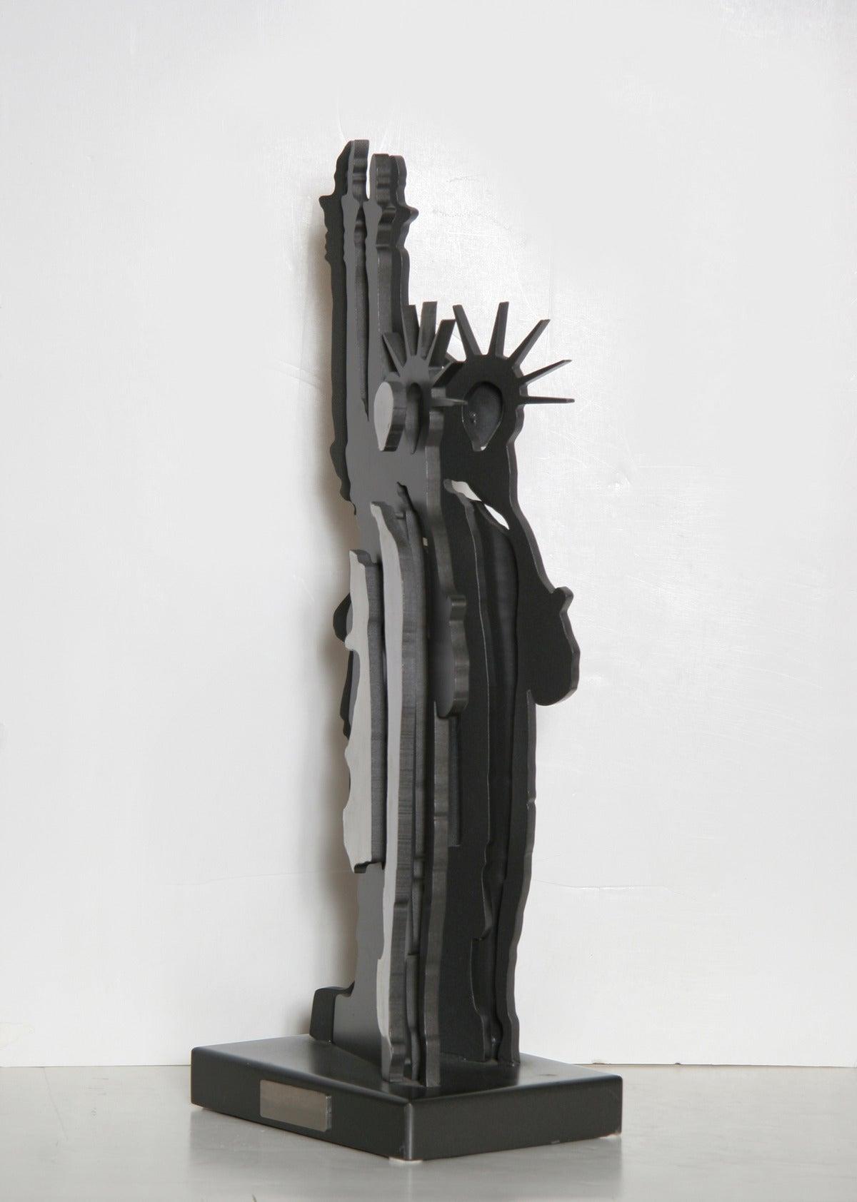Statue of Liberty - Le Fantome de la Liberte - Sculpture by Fernandez Arman