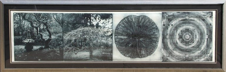 Judy Pfaff Abstract Print - When the Moon is Full