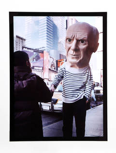 Picasso, Photograph by Maurizio Cattelan