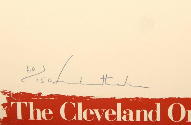 Cleveland Orchestra - Print by Helen Frankenthaler