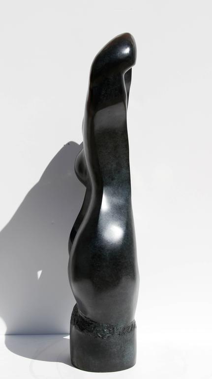 Artist: Ellen Brenner-Sorensen Title: Untitled II Year: 1992 Medium: Bronze Sculpture, signature and number inscribed Edition: 3/9 Size: 34 in. x 16 in. x 7 in. (86.36 cm x 40.64 cm x 17.78 cm)