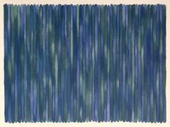 Adam's Rib, Minimalist Stripe Lithograph by Gene Davis