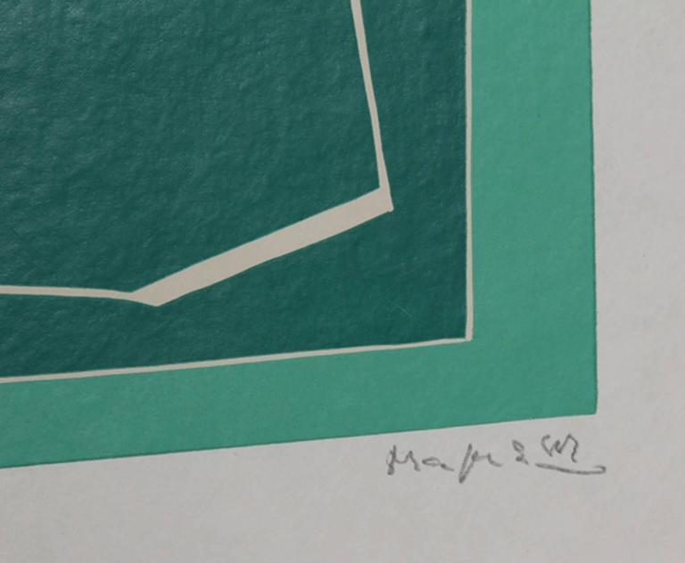 II from La Magnanerie de la Ferrage - Print by Alberto Magnelli