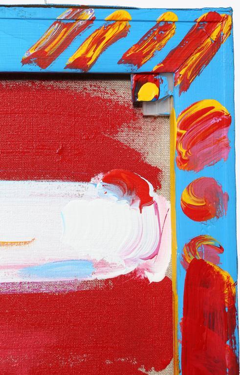 peter max flag painting for sale at 1stdibs. Black Bedroom Furniture Sets. Home Design Ideas