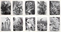 William Gropper - Capriccios Portfolio (50 lithographs)