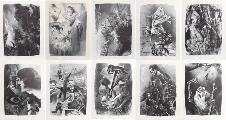 Capriccios Portfolio (50 lithographs) 3
