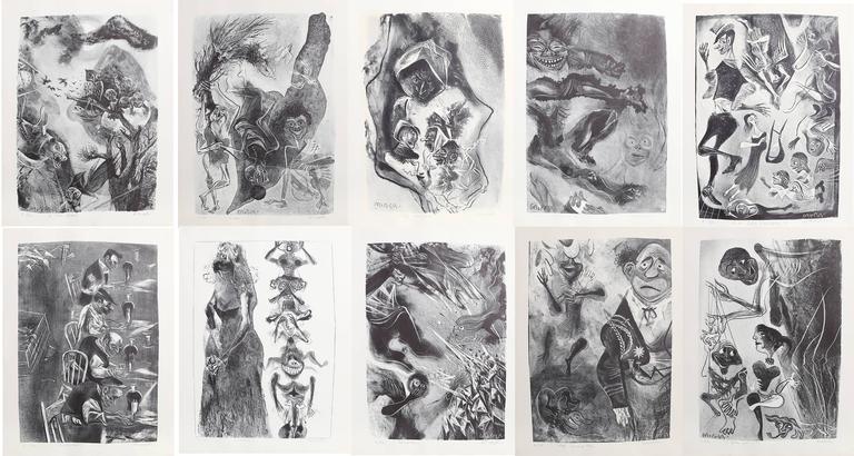 Capriccios Portfolio (50 lithographs) 4