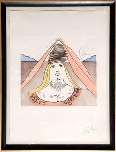 The Lady Dulcinea from Historia de Don Quichotte de la Mancha