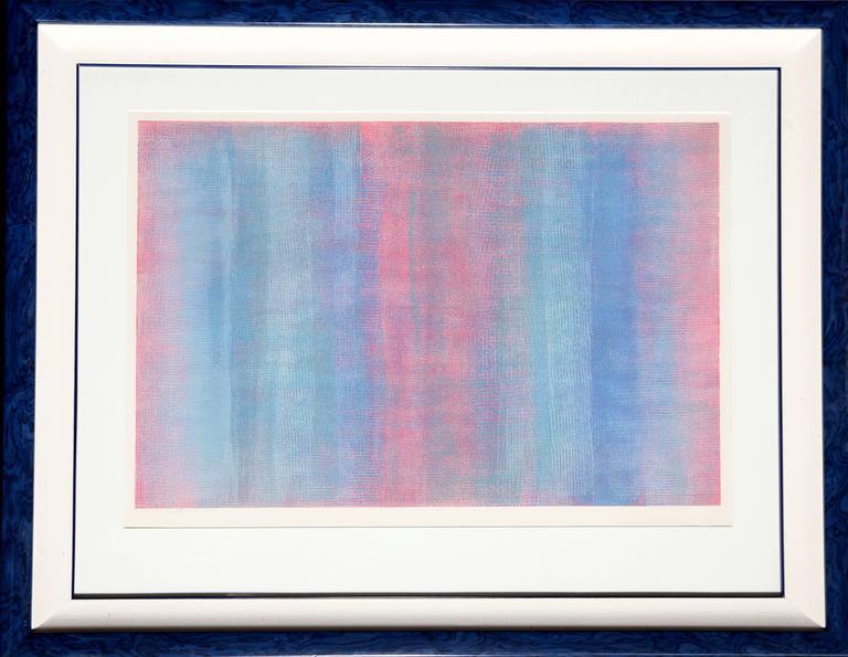 Robert Natkin Abstract Print - untitled