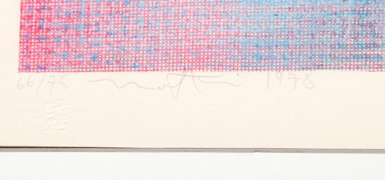 untitled - Print by Robert Natkin