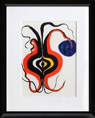 The Onion, Abstract Lithograph by Alexander Calder