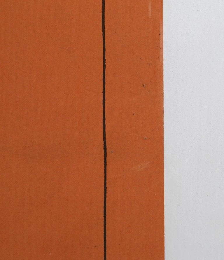 Robert mangold minimalist silkscreen circa 1970 print for Minimal art 1970
