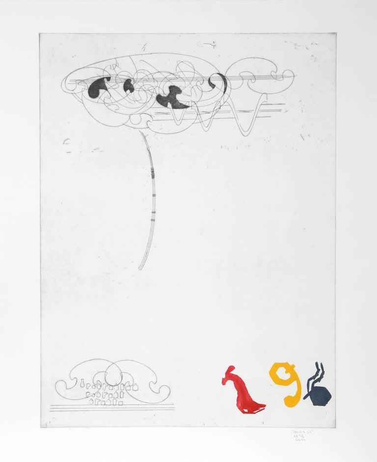 Glenn Goldberg Abstract Print - Paco and J.J.