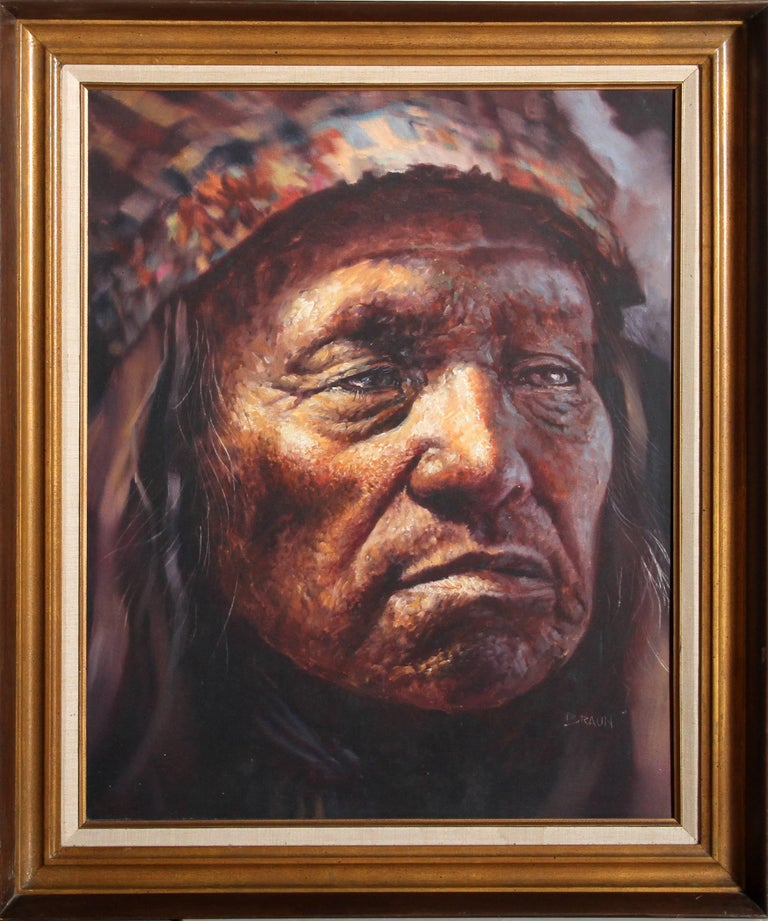 American Indian Chief Portrait