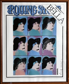 Bella Abzug, Rolling Stone Cover, Signed Poster 1977