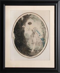 Hiding Place, Framed Etching 1927