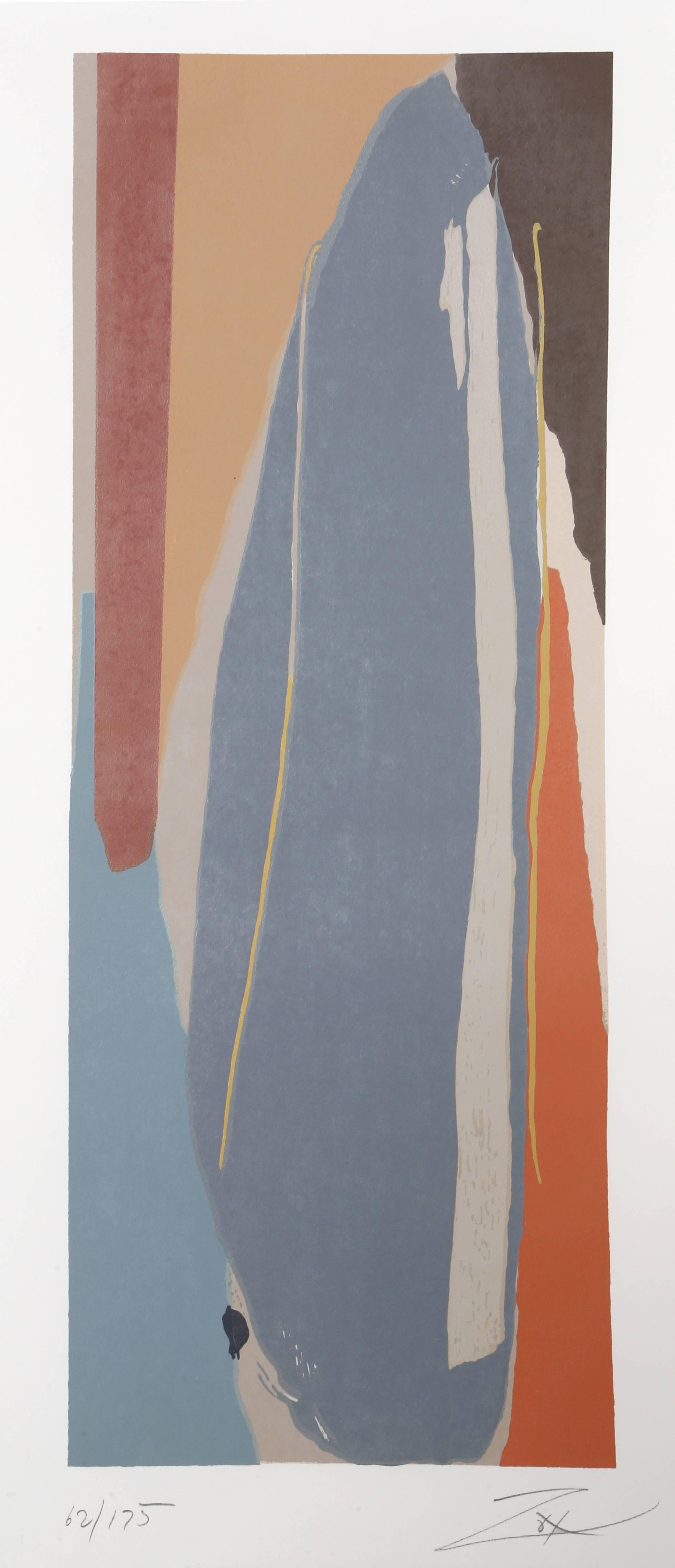 Niagara Series No. 5, Abstract Silkscreen