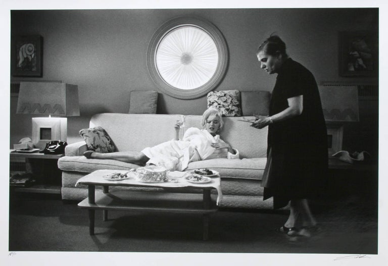 Lawrence Schiller Nude Photograph - Marilyn Monroe in Something's Got to Give - 4