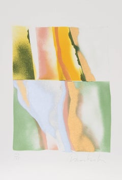 Flashback VI, Abstract Lithograph by John Chamberlain