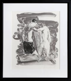 Two Bathers, Lithograph by Eric Fischl