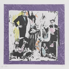 Justine and the Victorian Punks (Warhol), by Colette