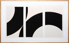 SS 19-78, Large Minimalist Silkscreen by Daphnis