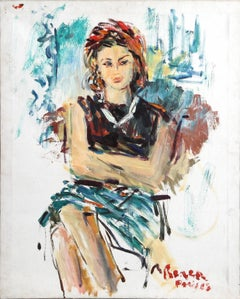 Portrait of Princess Ira von Furstenberg, Paris 1968