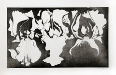 Black and White Irises
