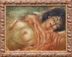 Reclining Nude, Oil Painting by Julian Ritter